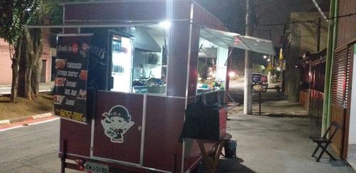 Imagem 1 de 12 de Trailer Food Truck