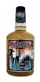 Caja De Destilado Rancho Escondido Con 12 Botellas De 750 Ml