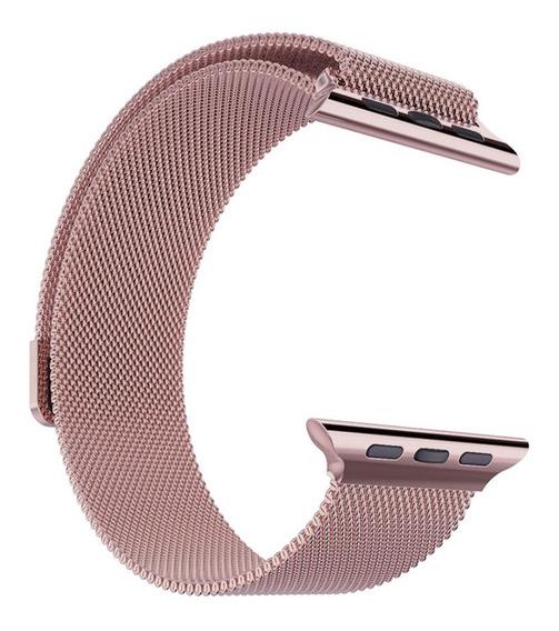 Correa Extensible Malla Acero Inoxidable Para Apple Watch Serie 1 2 3 4