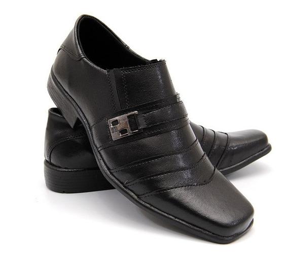 Sapato De Couro Infantil Sapato Couro Social Adulto
