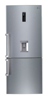 Heladera Con Freezer 441lts Inverter Lg Gc-f559bldz 9882