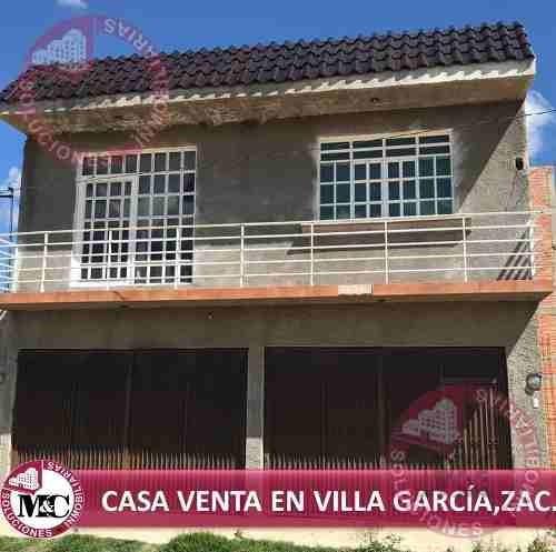 Casa Venta En Villa García, Zac.