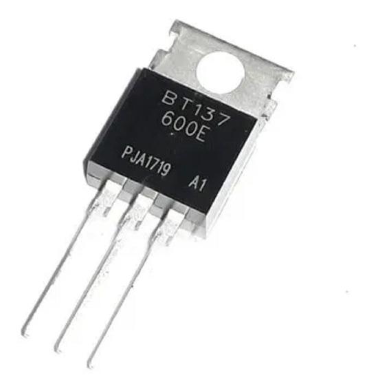Bt137-600 E Triac 8a 600v B T 137-600 E To-220 X 5 U