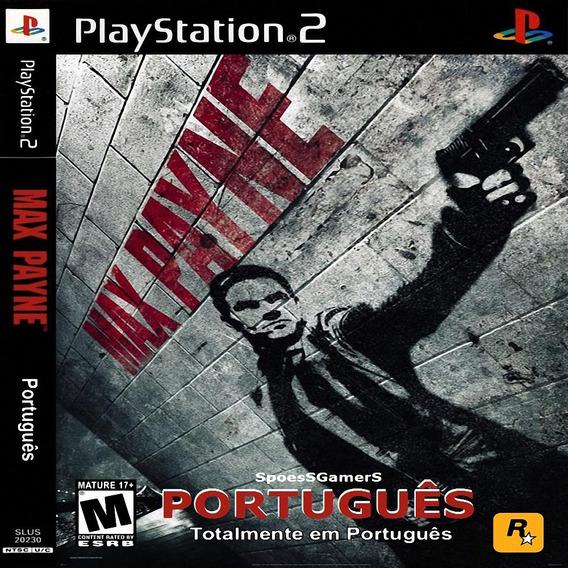 Max Payne 1 Em Português Ps2 Desbloqueado Patch