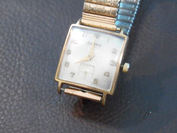 Relógio De Pulso Classic A Corda Funcionando