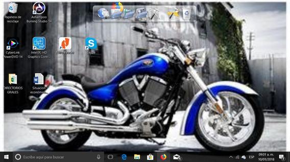 Motocicleta Victory Modelo 2007 1550cc Asientos De Piel Soni