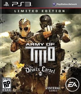 Army Of Two The Devils Cartel ~ Ps3 Digital Español