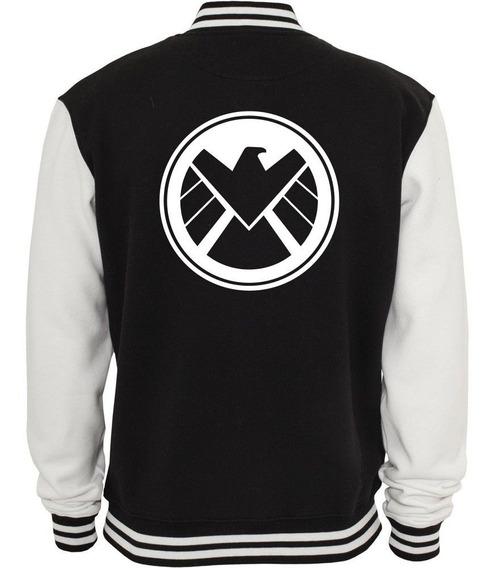 Jaqueta Shield Vingadores Marvel Moletom Blusa De Frio Heroi