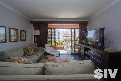 Apartamento Com 3 Dormitórios À Venda, 150 M² Por R$ 1.800.000,00 - Riviera - Módulo 4 - Bertioga/sp - Ap1599