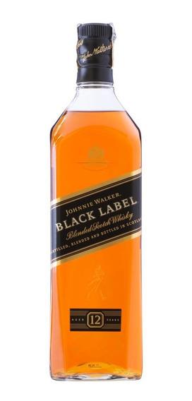 Whisky Escocês Johnnie Walker Black Label 12 Anos 1 Lt