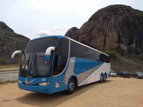 Imagem 1 de 13 de Ônibus Fretamentos Revisado Marcopolo 1350 G6 Mercedes Benz