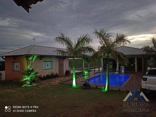 Imagem 1 de 18 de Chácara À Venda, 800 M² Por R$ 800.000,00 - Zona Rural - Porecatu/pr - Ch0137
