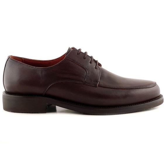 Zapato Hombre Cuero Briganti Acordonado Goma - Hcac00829