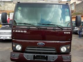 Ford Cargo 1119 14/14 Bascula Com Ar-condicionado Completo