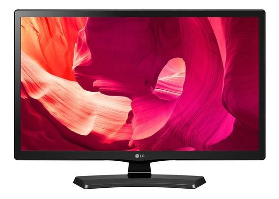 """Monitor LG 20MT49DF led 19.5"""" preto 100V/240V"""