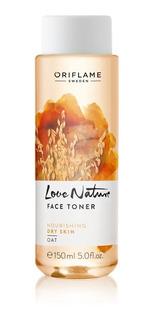 Love Nature Tónico Limpieza Facial Avena Oriflame