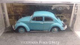 Miniatura Volkswagen Fusca 1961 De Agostini Altaya 1/43