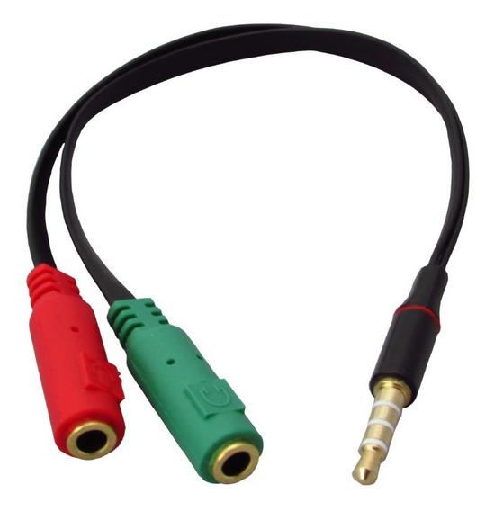 Adaptador P3 X P2 P/ Microfone E Fone M3