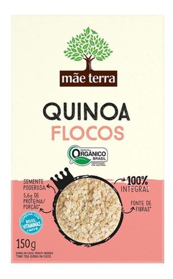Quinoa Em Grãos Orgânica Mãe Terra Caixa 250g