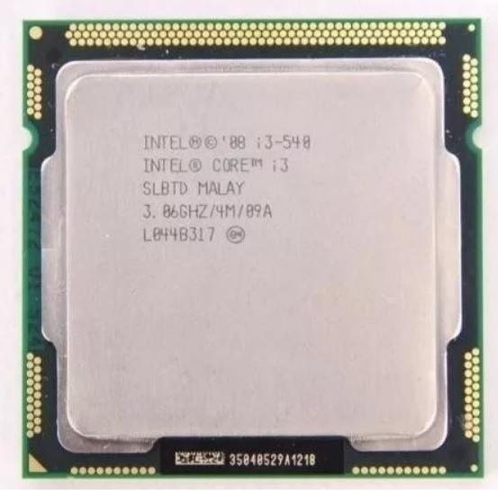 Processador I3 540 - 3.06ghz - Lga1156