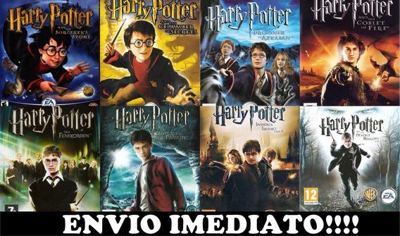 Coleção Jogos Harry Potter Pc - Mídia Digital + Brinde