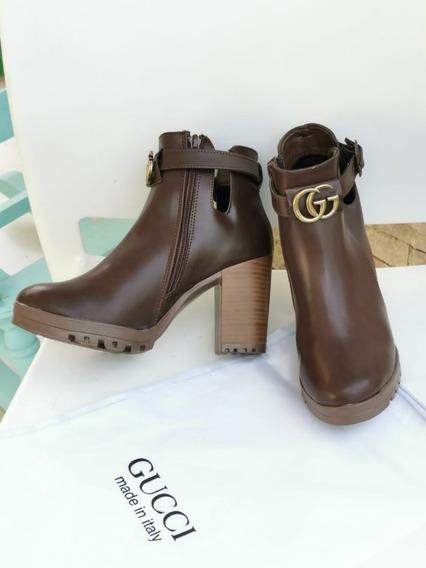 Botas Tacones Zapatillas Plataformas Gucci Dama Mujer Nuevos