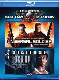 Blu-ray Lock Up Condena Brutal + Soldado Universal / 2 Films