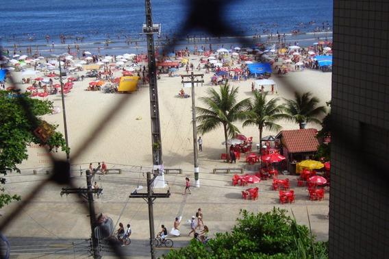 Apartamento Para Alugar No Bairro Centro Em São Vicente - - 147-3