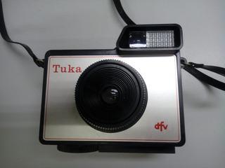 Antiga Câmera Fotográfica Tuka Dfv