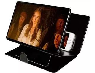Capa Lente Para Aumentar A Tela De Seu Celular Netflix Pro