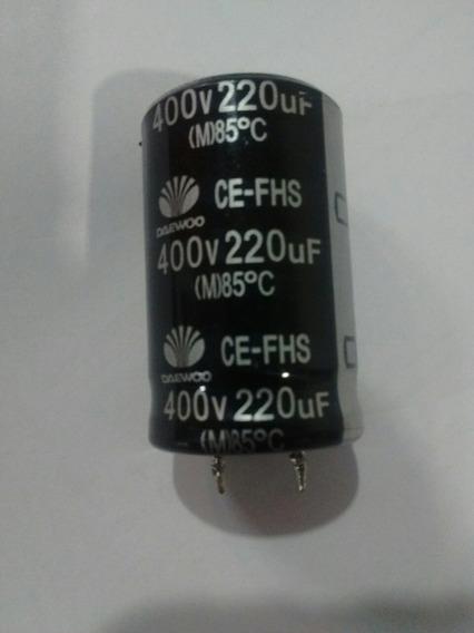 Capacitor Electrónico 400v 220uf