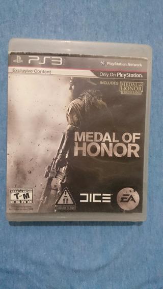 Medal Of Honor Ps3 M. Fisica Frete R$10