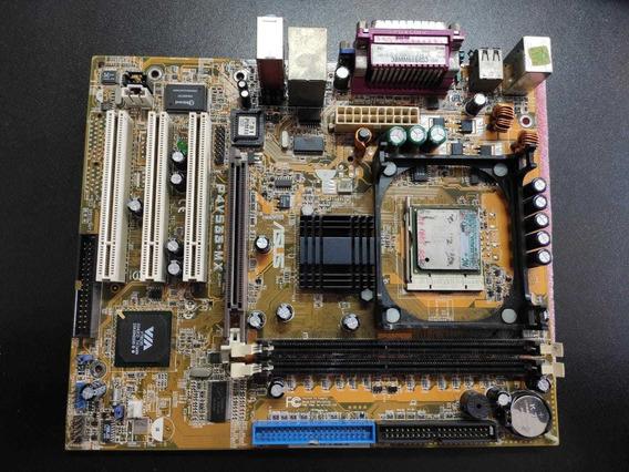 Placa Mãe 478 Asus + Processador Pentium 4 1.8 Ddr