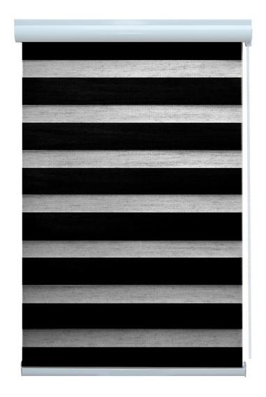 Persiana Rolo Horizontal Zebra Pronta Instalar 1,60x2,20