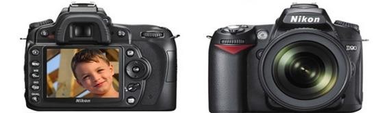 Câmera Nikon D-90 Completa