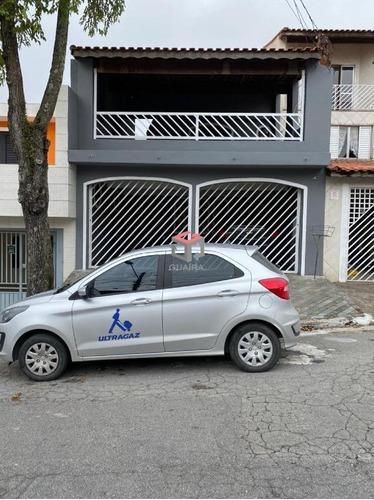 Imagem 1 de 30 de Sobrado À Venda, 3 Quartos, 2 Vagas, Camilópolis - Santo André/sp - 99495