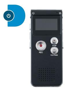 Grabadora De Voz Digital 8gb Sonido Audio 550 Horas | Dfast