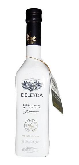 Azeite Chileno De Oliva Extra Virgem Premium Deleyda 500ml