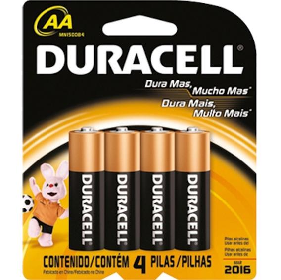Pilha Duracell P Com 4 Unidades