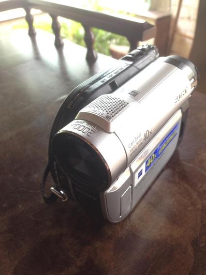 Câmera Sony Handycam 40x Zoom Óptico. Modelo Dcr-dvd610