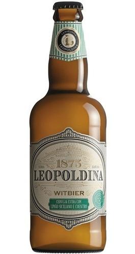 Imagem 1 de 2 de Cerveja Witbier Limão Siciliano E Coentro Leopoldina 500ml