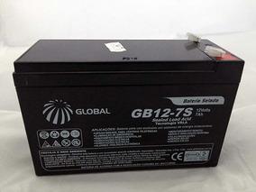 Kit 5 Baterias Seladas 12v 7a - Nobreak Alarme Cerca Eletric