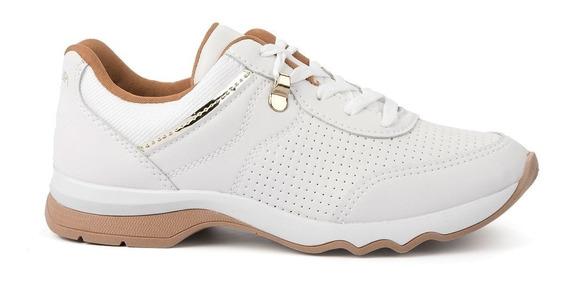 Tenis Feminino Casual Branco Mississipi Q2272