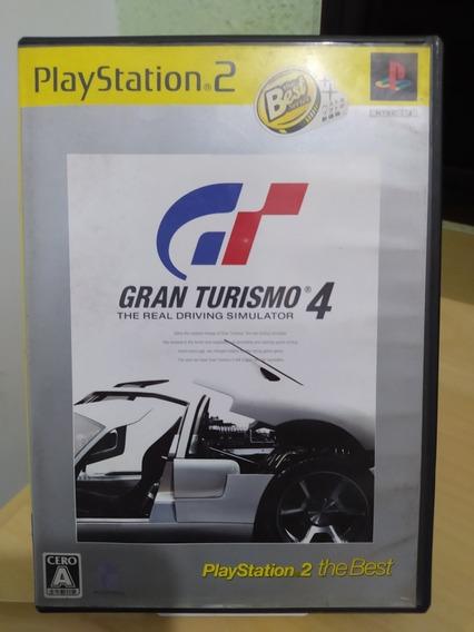 Gran Turismo 4 Ps2 Original Usado Japonês