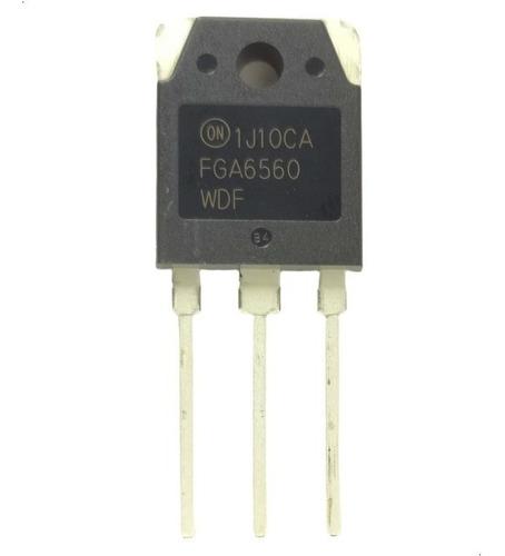 Imagen 1 de 3 de Transistor Fga6560wdf Fga6560wd Fga6560 To-3p 120a 650v 306w