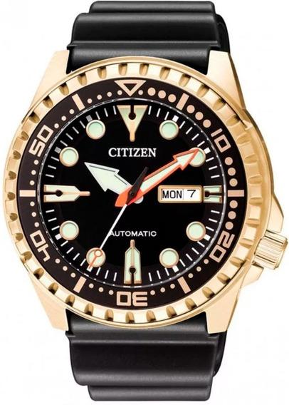 Relógio Citizen Masculino Automático Marine Sport Nh8383-17e / Tz31123u