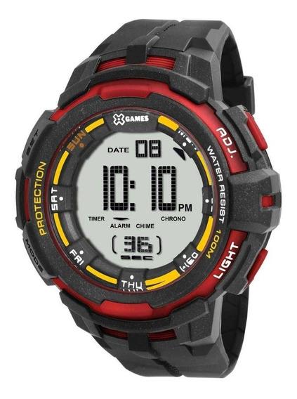 Relógio X-games Digital Masculino Sport Xmppd352 Original
