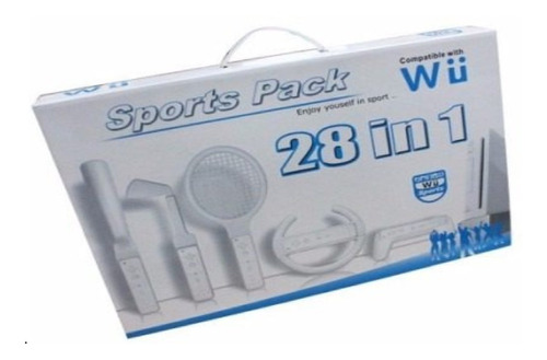 Nintendo Wii Sport Pack 28 In 1 Wii Para Wiimote + Nunchuck