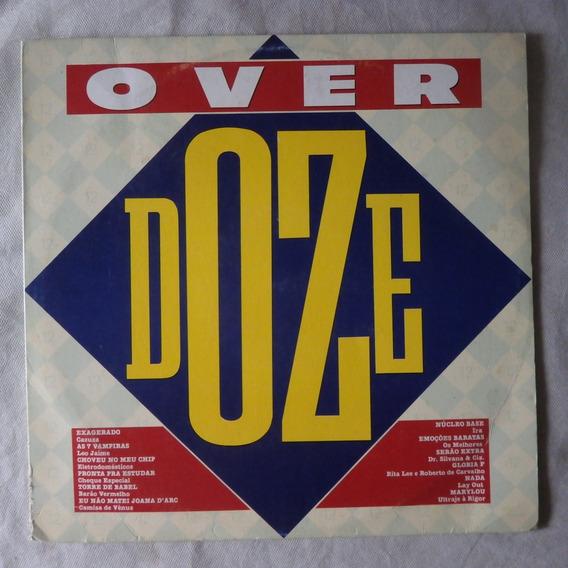 Lp Over Doze 1986, Disco De Vinil Rock Nacional Seminovo