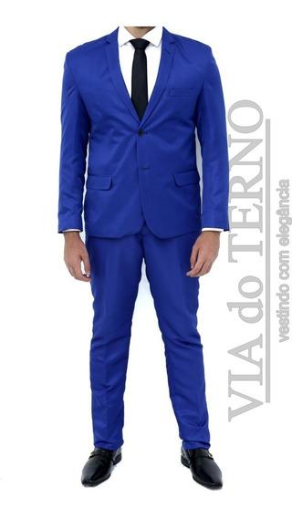 Terno Azul Royal - Cia Do Terno